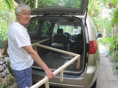 turning your minivan into a camper