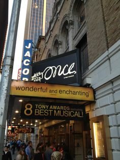 #Once #Broadway #NewYork : I would've loved to have seen it w Cristin Milioti ...