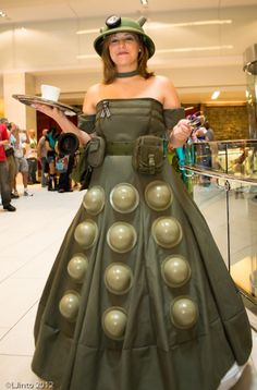 Military Dalek Dress - YES! That was my favorite Dalek...well, that and the one that thinks it is a ballerina.