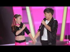 Anthony & Tamara Sings We Go Together | The Voice Kids Australia 2014 Funny and mostly adorable!