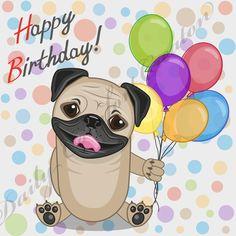 Popular items for dog happy birthday on Etsy