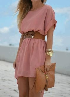 16 Ways to Wear the Pretty Little Pink Dress Trends - Stylos & Moda - Look Fashion, Fashion Clothes, Fashion Outfits, Womens Fashion, Dress Clothes, Dress Fashion, Street Fashion, Fashion Ideas, Style Clothes
