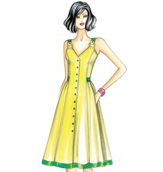 F3405 | Marfy Dress | New Designs | Butterick Patterns