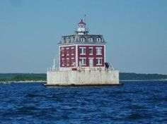 Lighthouse Photography 5 X 7  New London Ledge by TheRightJack