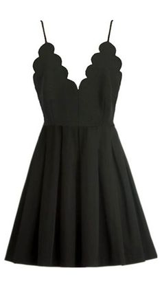 If you are looking for an elegant and little black dress, then you have come to the right place! The sheer unique neckline is stunning and we are so in love with this style! Go and hit it at Cupshe.com !