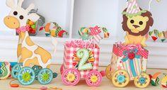Vintage Birthday Toy Train ~ by Tamara Tripodi for SVG Cuts
