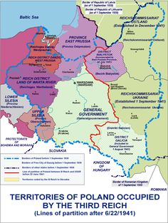 Rape during the Soviet occupation of Poland Danzig, History Major, World History, Poland History, Invasion Of Poland, Alternate History, Historical Maps, Cartography, Eastern Europe