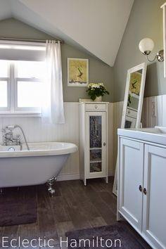 Eclectic Hamilton: Das Badezimmer ... endlich!