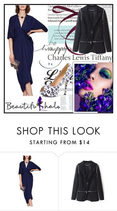 """""""Bhalo 2"""" by damira-dlxv ❤ liked on Polyvore featuring Tiffany & Co., Roland Mouret, bhalo and bhalo2"""
