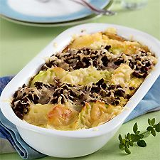 Mince and kohlrabi gratin Low Calorie Recipes, Paleo Recipes, Quiche, Musaka, Low Carb Meats, Healthy Summer Recipes, Healthy Grilling, Grilling Recipes, Low Carb Side Dishes