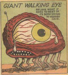 Comic Books Art, Comic Art, Book Art, Old Comics, Vintage Comics, Art Pop, Monster Museum, Especie Animal, Comic Book Panels