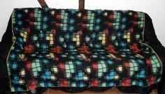 vintage sofa blanket dekens wolldecke 50s