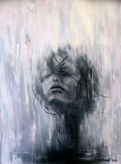 """Saatchi Art Artist Sophia Fleetwood; Painting, """"RAIVEUSE"""" #art"""