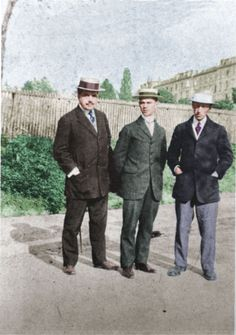 Diaghilev, Nijinsky and Stravinsky