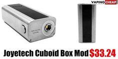 Joyetech Cuboid Box Mod $33.24 - http://vapingcheap.com/joyetech-cuboid-box-mod/