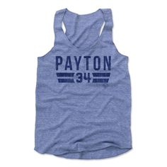 Walter Payton Font B Chicago Officially Licensed Women's Tank Top S-XL