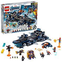 LEGO- L'héliporteur des Avengers Marvel Super Heroes Jeux de Construction 76153 Multicolore Lego Marvel's Avengers, Marvel Avengers Movies, Films Marvel, Lego Batman, Marvel Heroes, Captain Marvel, Shop Lego, Buy Lego, Thor