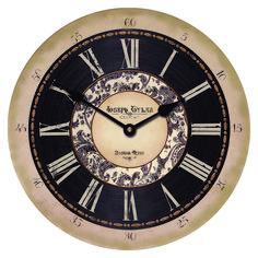 Neutral Large Wall Clocks Choose Your Size and wording