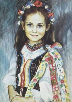 Remember these from my childhood - artist Muszynska-Zamorska Polish Posters, Central And Eastern Europe, My Heritage, Beautiful Children, Beautiful Paintings, Painting Inspiration, Body Painting, Art For Kids, Fine Art