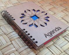 A5 agenda floral