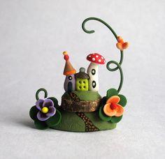 Miniature  Charming Whimsy Fairy House Colony by ArtisticSpirit