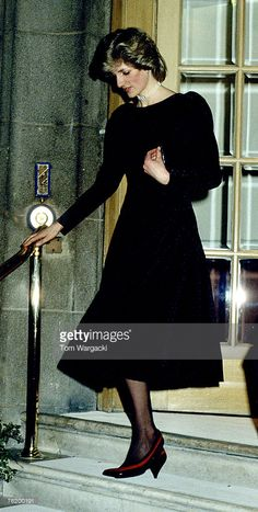 Princess Diana at The Ritz Hotel in February 1984
