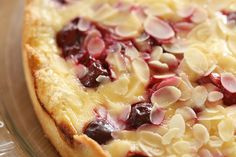 Cherry Marzipan Tart / Kirsi-martsipanikook by Pille - Nami-nami, via Flickr