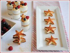 Patriotic Puff Pastry Stars from Half Baked