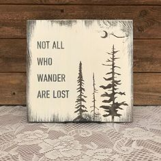 Items similar to Not all who wander are lost - reclaimed wood sign on Etsy Wood Block Crafts, Barn Wood Crafts, Wood Burning Crafts, Wood Burning Patterns, Wood Burning Art, Wood Projects, Woodworking Projects, Woodworking Jigs, Woodworking Furniture