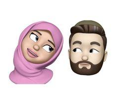Cute Cartoon Girl, Couple Cartoon, Cute Emoji Wallpaper, Cute Cartoon Wallpapers, Cartoon Drawings, Cartoon Art, Wedding Photography Contract, Sarra Art, Hijab Drawing
