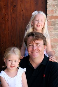 Prins Friso en zijn dochters Luana en Zaria, 2010 © RVD
