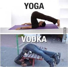 """""""Trust me, you can do it..."""" - Vodka."""
