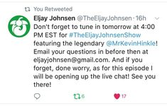 Dont forget to catch me on #TheEljayJohnsenShow (YouTube) today (March 3) at 4:00pm EST to chat about all of lifes great mysteries. Or just the #LEGO hobby & community. Or both!  If youve got questions for Eljay or myself- shoot him an email or tag him on Twitter. Well also have the chat live! #AFOL #Community