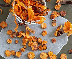 Crispy Baked Carrot Chips (2 Recipes)... Happy Hour Appetizers 63 | Hampton Roads Happy Hour