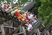 The Adventure Express - One of the best rides at Kings Island!!