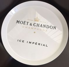 YOU ARE BUYING A FANTASTIC MOET CHANDON ICE IMPERIAL TRAY. THE SALE IS PURELY FOR THE TRAY AND DOES NOT INCLUDE THE RUBBER RING OR ANY GLASSES OR BOTTLE OF CHAMPAGNE. THE LAST PHOTO SHOWS YOU THE FLOATING BAR MADE UP OF THE TRAY SITTING ON THE RUBBER RING. | eBay!