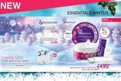 NEW Special edition winter Essentials Multi-Purpose Cream and Lip Balm and you have a brilliant gift, ready to give.    The products are enriched in Vitamin E and Shea Butter to protect your skin and lips in the cold weather. The Multi-purpose Cream protects and nourishes the face and body and the Lip Balm protects and softens dry and rough chapped lips.    Best of all, you can get both for only £4.95