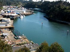 Noyo Harbor, Fort Bragg, CA best clam chowder at Carine's ! Mendocino County, Ca Usa, Fort Bragg, Small Town Girl, California Dreamin', Small Towns, Places To Visit, Clam Chowder, Explore