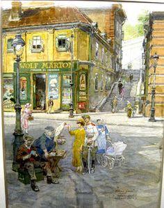 "TABÁN*ANNO*GALERIA: ZÓRÁD ERNŐ ""100"" jubileumi tárlat Jena, Budapest, Tao, Drawings, Painting, Vintage, Paintings, Artists, Painting Art"