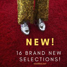 HAPPY MARCH! 16 brand new selections JUST listed at novelRed.com! Get your shop on now! Crushed Velvet Top, Happy March, Novels, Brand New, Red, Instagram, Shop, Store, Fiction