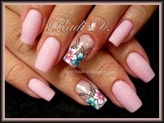 pink and floral french
