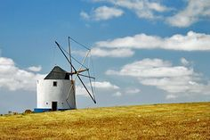 Portugal, windmill in the Argarve