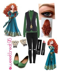 Merida modern outfits. by sweeettreat95 on Polyvore featuring polyvore fashion style Ter de Caractère J.Crew Topshop Ollio Betsey Johnson Tiffany & Co. Edward Bess modern clothing