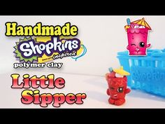 How To Make Shopkins: Little Sipper Polymer Clay Tutorial! - YouTube