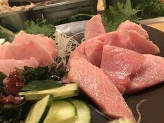 [i ate] toro and hamachi sashimi