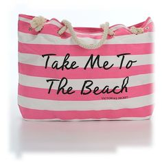 Pre-owned Victoria's Secret Pink Tote: Pink Women's Bags ($51) ❤ liked on Polyvore featuring bags, handbags, tote bags, pink, pre owned handbags, tote handbags, pink tote handbags, pink tote purse and hand bags