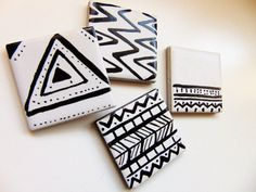 Hey, I found this really awesome Etsy listing at https://www.etsy.com/uk/listing/497671967/aztec-monochrome-magnets-black-and-white