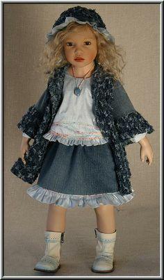 Beautiful doll - Zofia Zawieruszynski doll