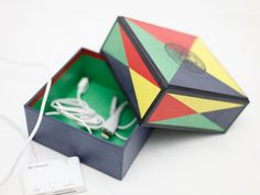 Classic Korean Design Square Box - papertree