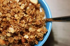 No Granola is Good Granola: Why uncooked oats are not good for you. (This blogger likes controversy.) Instead, you can make baked oatmeal, crumble it and dehydrate it for a more digestible option.